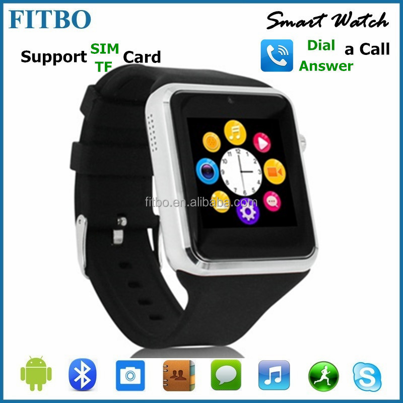 FITBO bluetooth watch with caller id for Xiaomi 5 5Plus MI6 Nokia