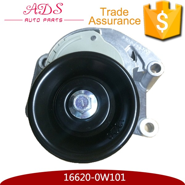V-belt ribbed 16620-0W101 Belt Tensioner Pulley Untuk Lexus GS400/GS430/LS400/LS430 Land Cruiser Prado