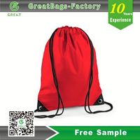 Rush Order Promotional Sports wholesale plain organza string bags with satin drawstring