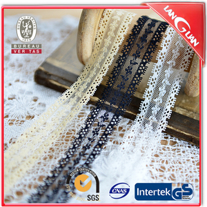 Polyester beautiful doft guipure bridal lace trim factory price