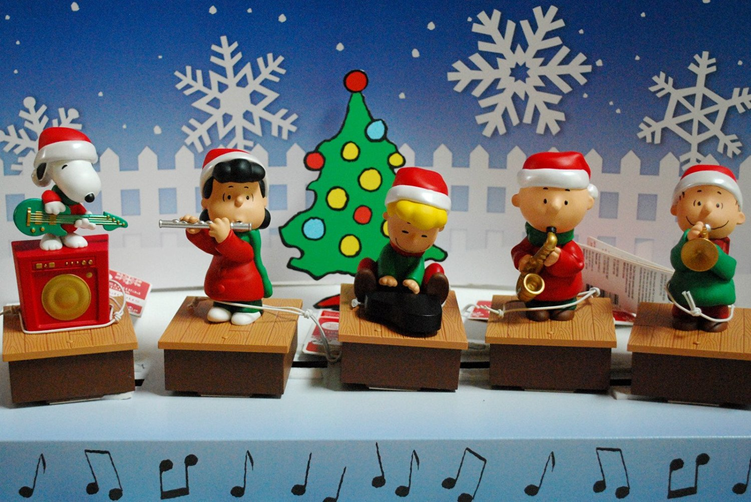 29cbfa184 ALL 5 Hallmark Peanuts Wireless Band From 2011 and 2012 Snoopy Charlie Brown  Schroeder Lucy and