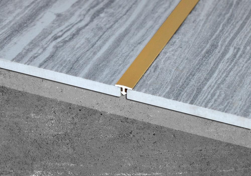 Anodized Aluminum Materials Edge Trim Porcelain Wall Tile Trim T Shape