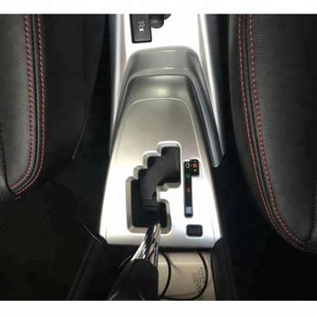 Car Interior Accessories Gear Panel Cover For Toyota Vios 2018 Matte