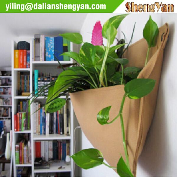 DIY Woolly Pocket Vertical Living Wall Planters Indoor