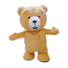 Teddy Bear Mascot Costume Inflatable Customize Mascot Costume For Adult Animal Costume Brown
