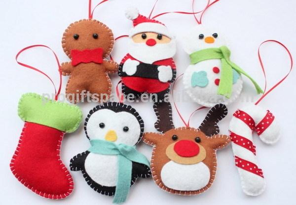 Felt Christmas Decorations Uk.Hot Sale Eco Friendly Handmade Felt Wholesale Christmas Decorations Uk Plush Inflatable Dolls Hanging Santa Snowman Reindeer Buy Hanging