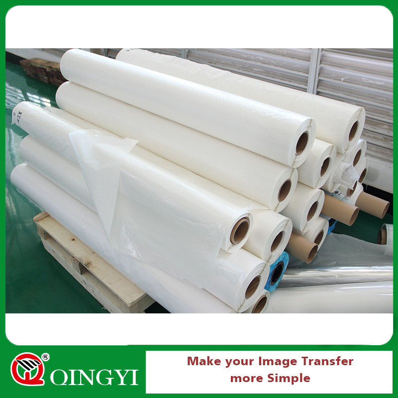 Factory direct Double Bonding Glue roll paper For Textile Fabric