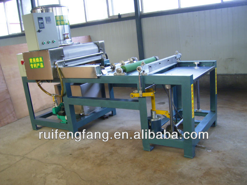 Automatic bee wax foundation machine from factory