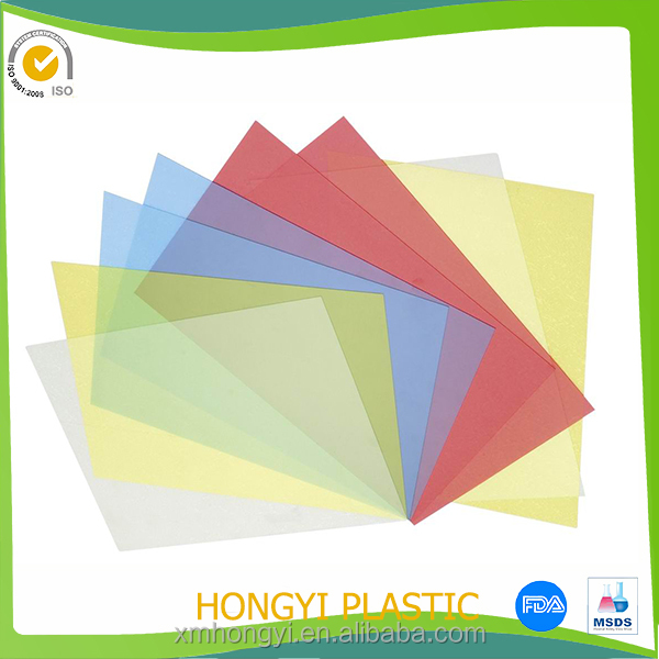 pvc binding cover,vinyl sheet, soft pvc document sheet