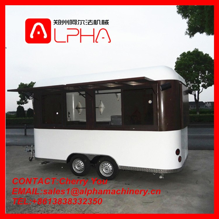 Food Vending Trailer Cars For Sale Mobile Restaurant Trailer/fast ...