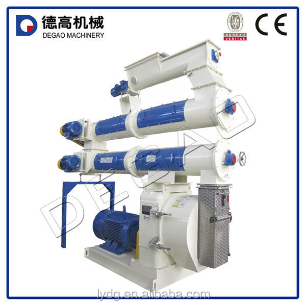 Complete plant of pig feed pellet mill machine
