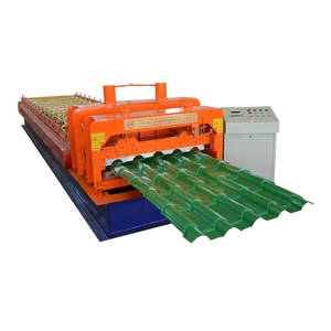 Best Price Roof Glaze Hanging Crest Tile Cutting Roll Forming Machine For