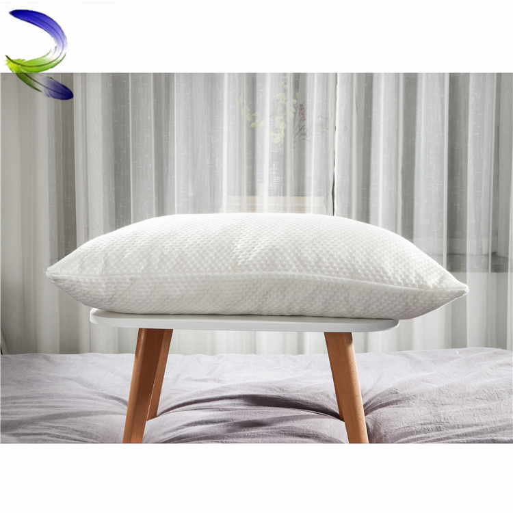 Cheap price hotel cushions home decor shredded memory foam wholesale bamboo pillow inserts
