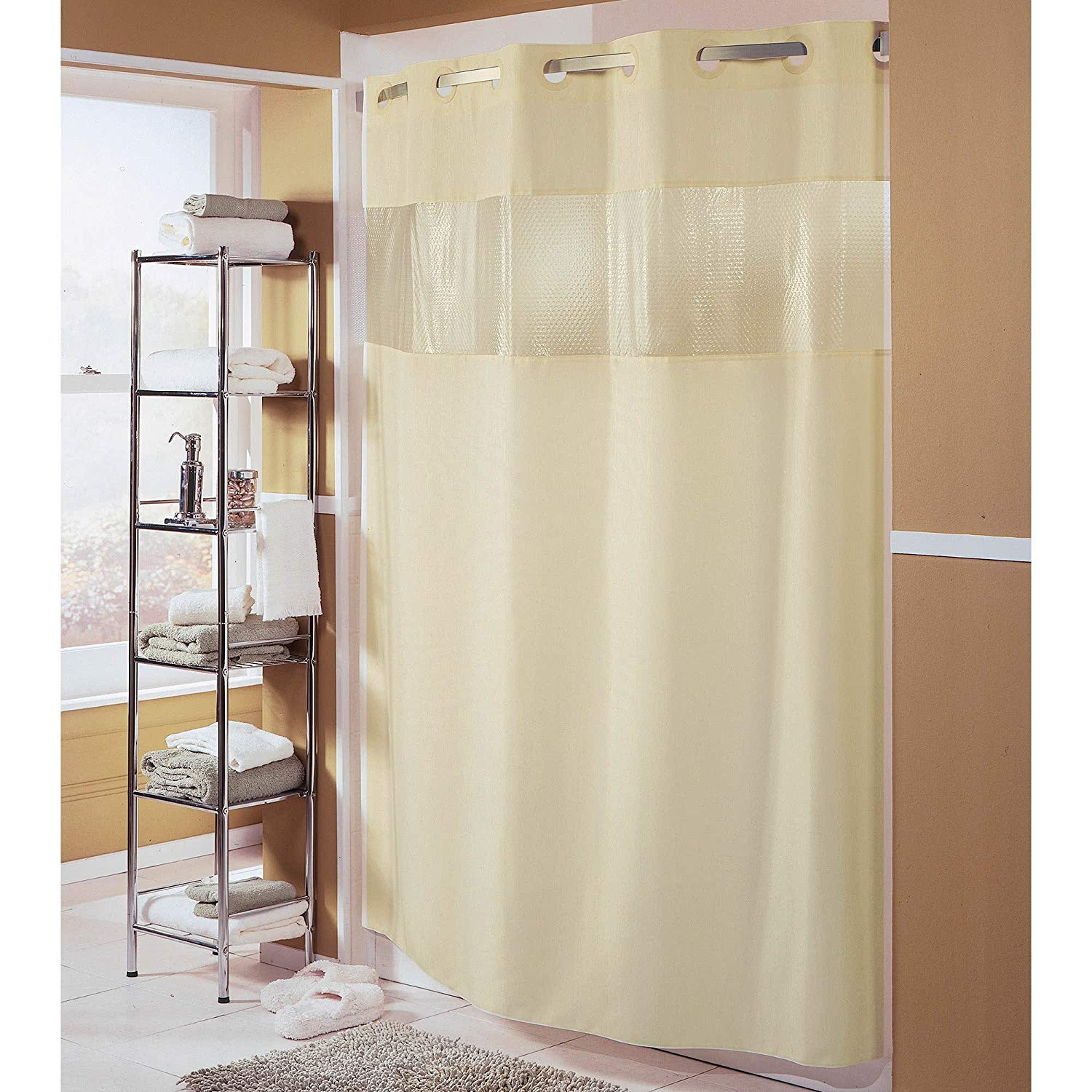Cheap Hookless Shower Curtain Fabric Find Hookless Shower