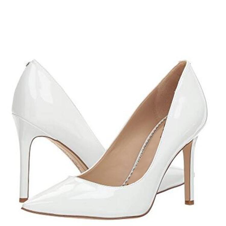 satin sexy for amp; Pointed ODM stylish XXX01 pump OEM Toe women design fashion heels w7v0qan0