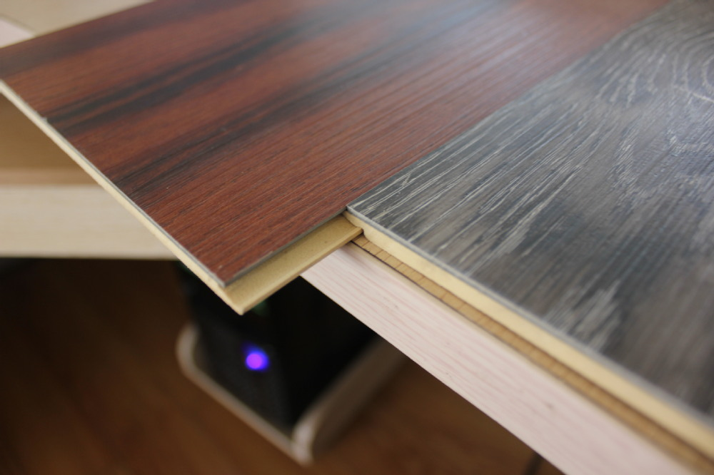 1218x177mm glue down interlocking wpc click lock vinyl plank