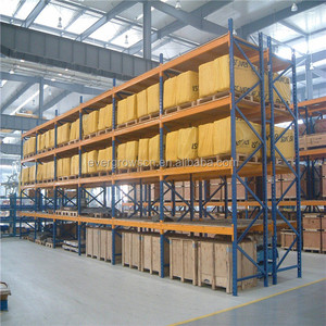 CE certification steel material vertical lift storage system for warehouse
