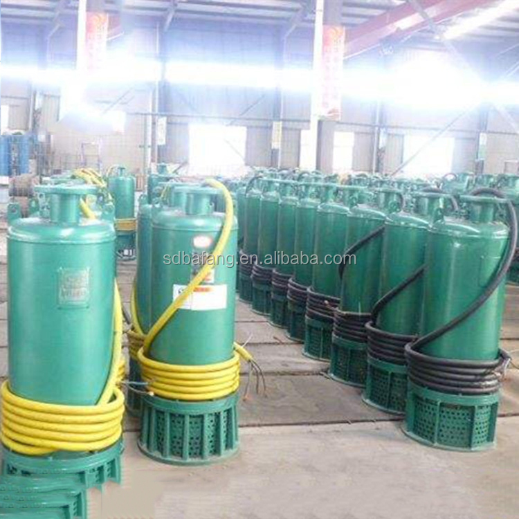 Mine explosion-proof submersible sand removal pump
