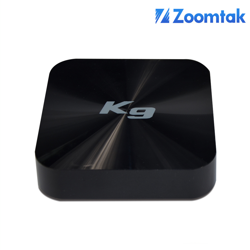 Zoomtak K9 free internet tv box top channel live channel streaming