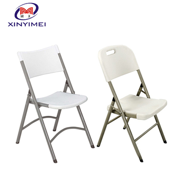 Indoor And Outdoor Used White Plastic Folding Chairs