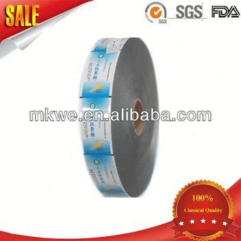 Food Plastic Laminated White Paper Roll Stock Film