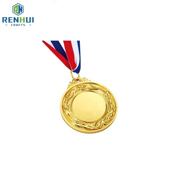 Hot sale fashion metal epoxy print on medal
