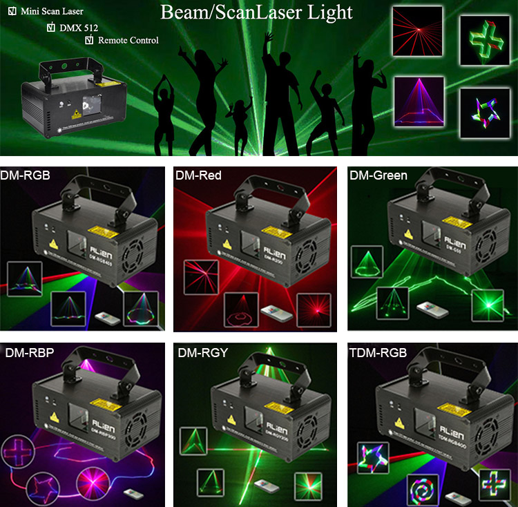 RGB Professional 3D Laser Stage Lighting Equipment