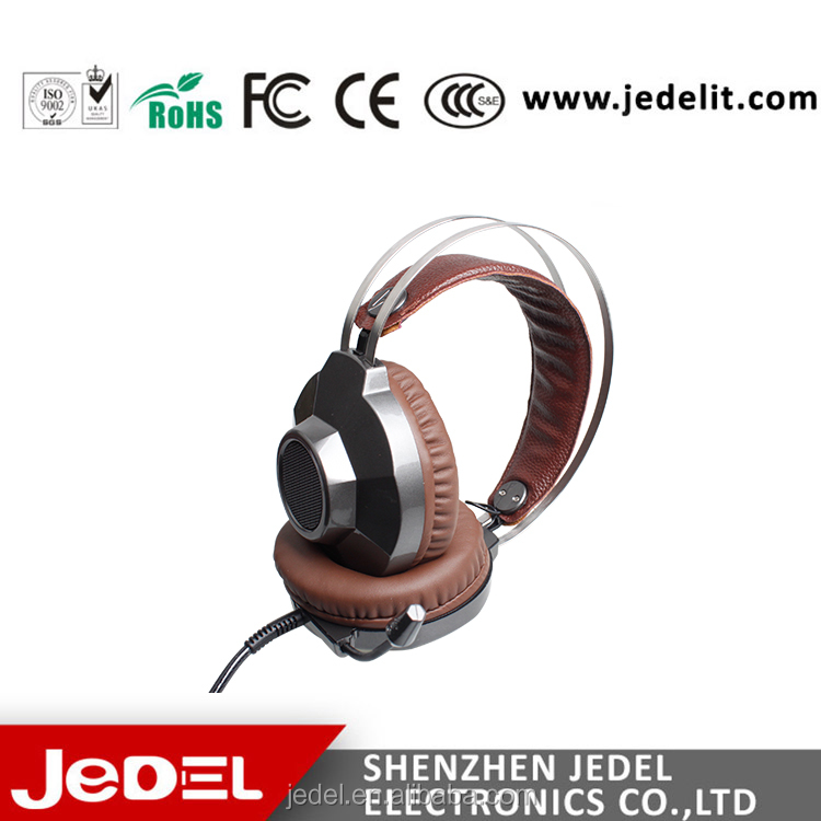 Jedel Professional Gaming Headset 7.1 Surround Sound Vibration USB PC Gaming Headphone