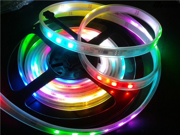 DC5V ws2811 60led/m 60chips rgb 4 pin rgb led strips connect cable