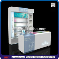 TSD-W077 Custom top quality shopping mall cosmetic display cabinet,cosmetic display showcase,makeup display cabinet
