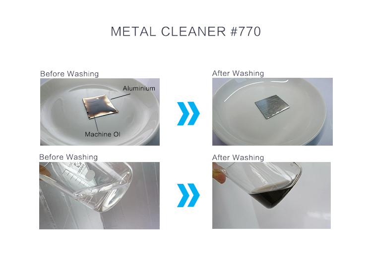 Wiping and cleaning flux, oil for metal parts and equipment