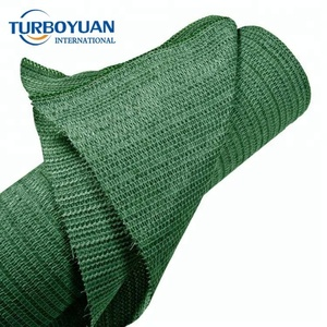 dark green hdpe sun shade sail woven knitted plastic shade sail fabric for patio garden
