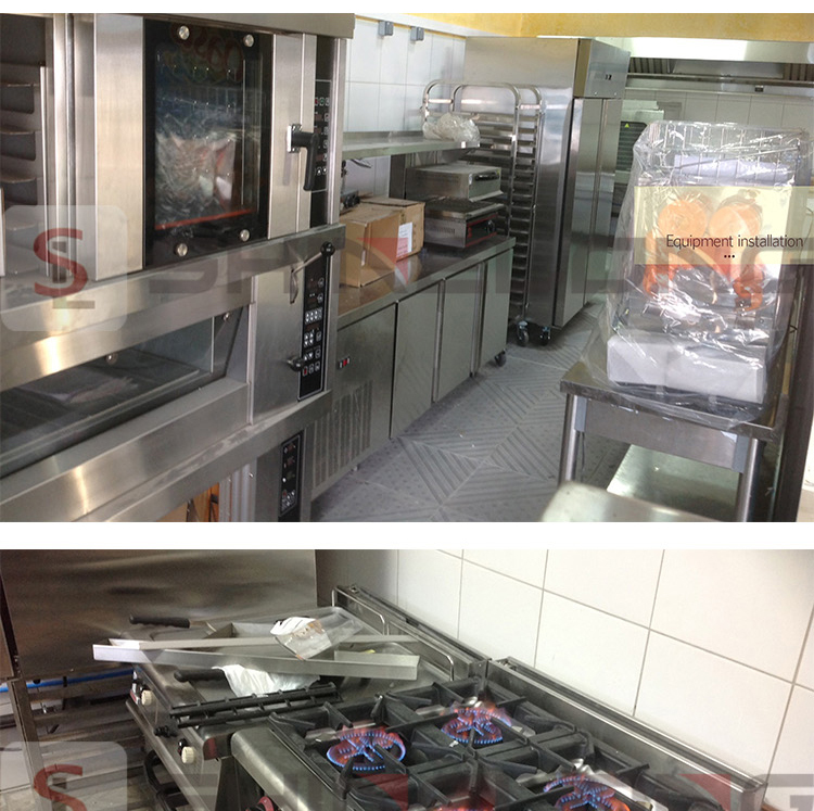 France Jenny's Bakery Restaurant Kitchen Equipment Project