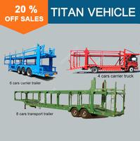 TITAN car carrier truck , cars trucks , car transport truck trailer