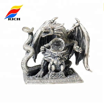 Custom Design Metal Dragon Statues For Sale Decorative Crafts