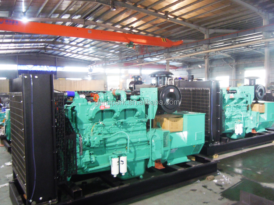50Hz 400V 250kw generator price with Stamford Alternator