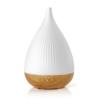 Wholesale Ultrasonic Aromatherapy 300ml Essential Oil Wood grain LED Ultrasonic Aroma Aromatherapy Humidifier