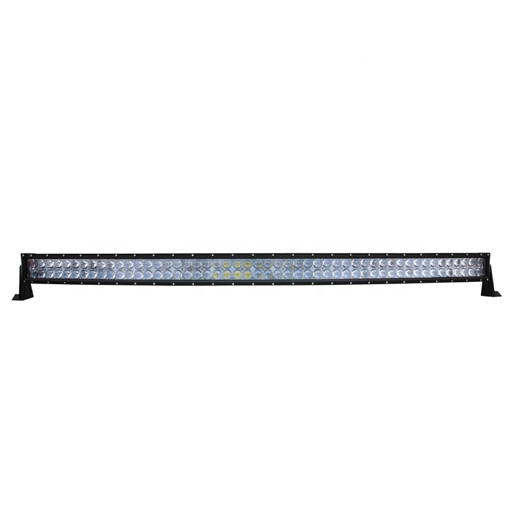 PZ1010 High Power 6500K led driving light 52'' Inch 4D 300W Curved LED strip Light bar for Offraod truck SUV