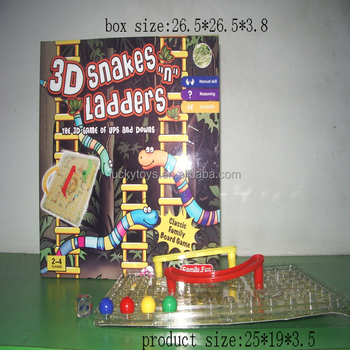 Ninos 3d Serpientes Y Escaleras Interior Instrucciones Juegos Buy