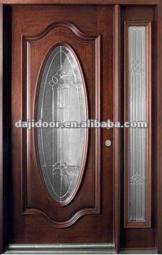 de madera de lujo oval de cristal diseo puertas de entrada djsmso