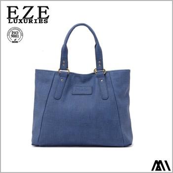 ab3ed38e8dce Модная красивая Плечо Девочек кожаная сумка очаровательная синие женские  сумки мешок завод
