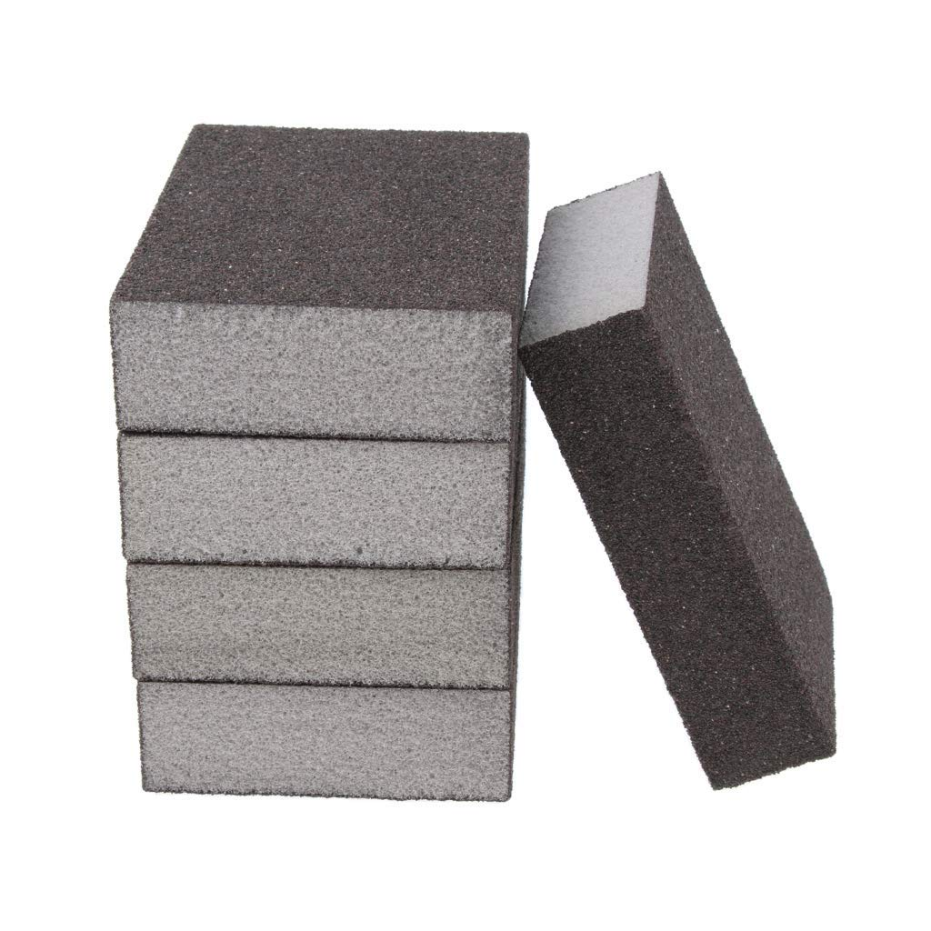 5 PCS Sanding Sponge Block for Metal Plastic Wood Paint Coarse to Extra Fine