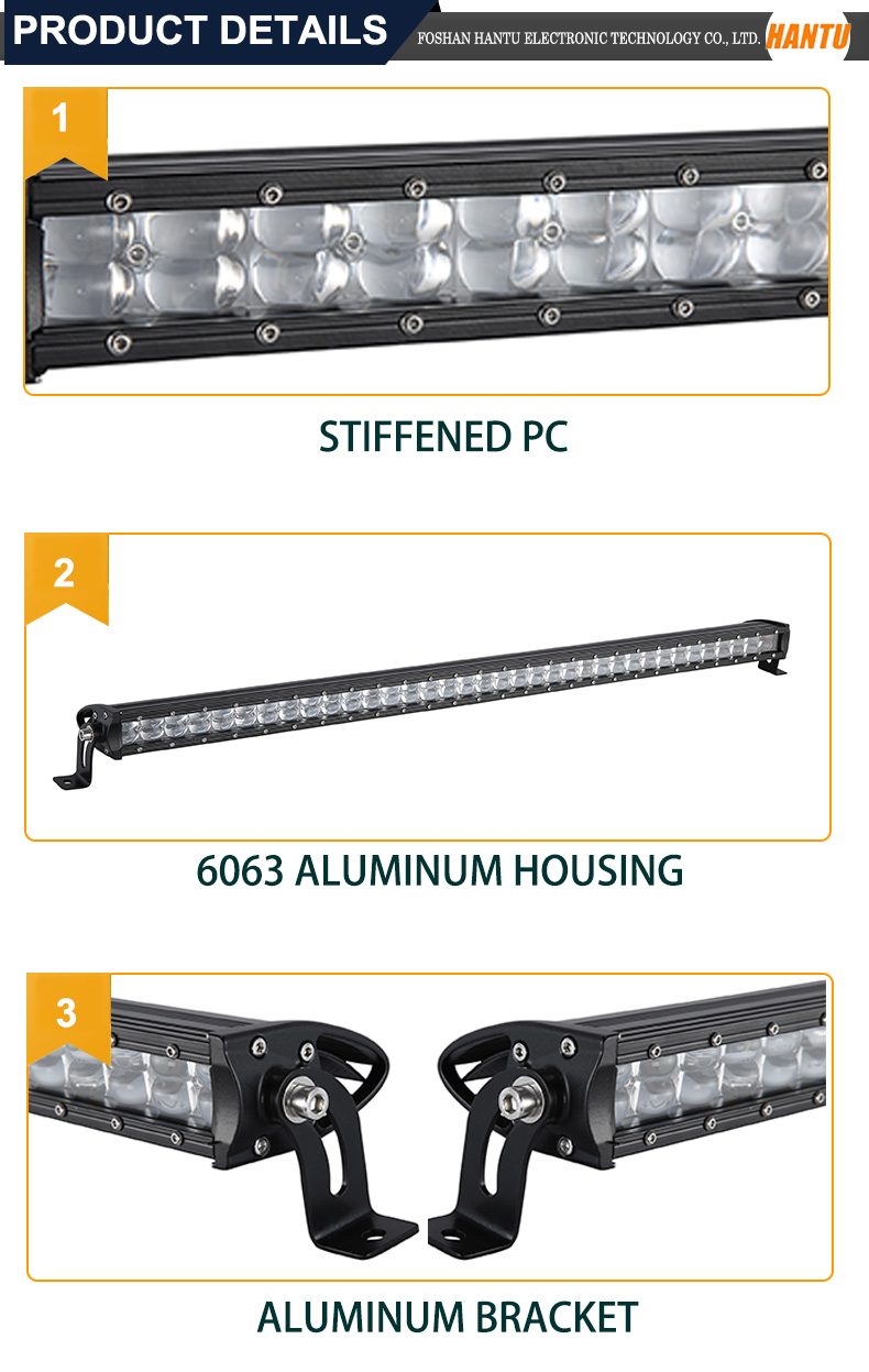 Spot flood combo beam 12 inch led light bar