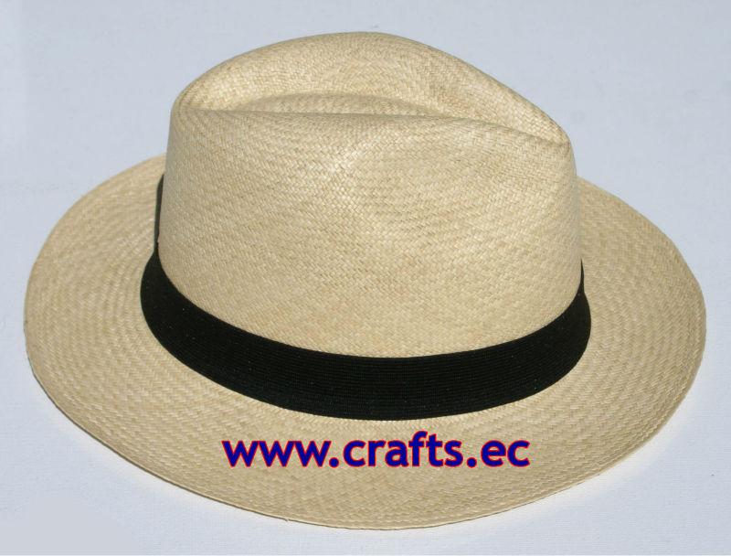 a730e5fd46553 Sombreros de paja toquilla ecuatorianos (Panamá hat)