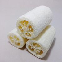 100% natural loofah face cleasing skin care deeply cleaning exfoliating loofah for women and men