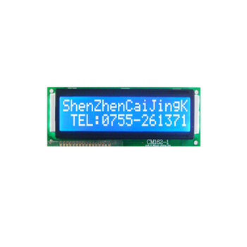 16 charactersx2 lines monochrome lcd display module with 16pins connection
