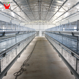 Yonggao Farming top1 quality fully hot dip galvanized H tier 4 layers commercial quail layer cage