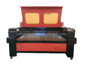 dual head fabric cutting machine with auto feeding laser cutting machine 1600mm width