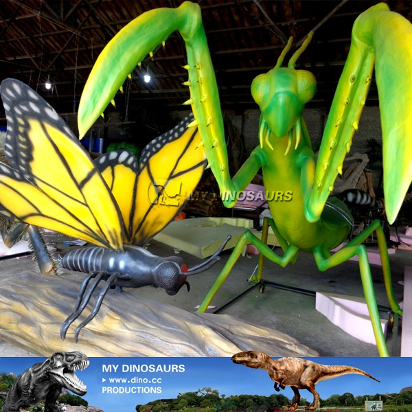 MY Dino-C027 Alive resin insects for theme park
