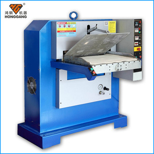 precision hydraulic genuine leather belt embossing machine